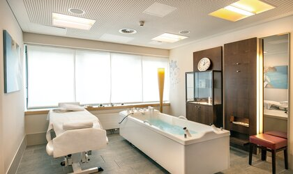 treatment area of the beauty residenz