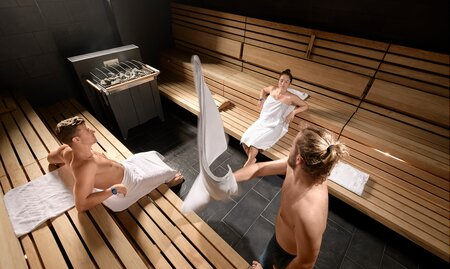 Sauna World Stollensauna Aufguss | © Alpentherme